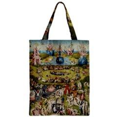 Hieronymus Bosch Garden Of Earthly Delights Zipper Classic Tote Bag by MasterpiecesOfArt