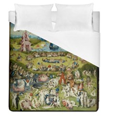 Hieronymus Bosch Garden Of Earthly Delights Duvet Cover (queen Size)