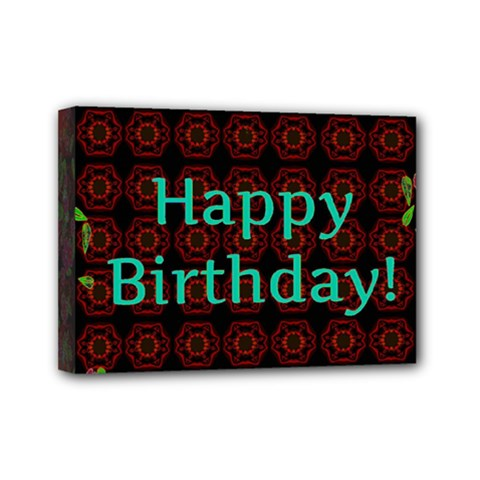 Happy Birthday To You! Mini Canvas 7  X 5  by Amaryn4rt