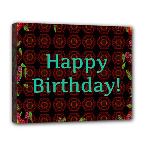 Happy Birthday To You! Deluxe Canvas 20  X 16   by Amaryn4rt
