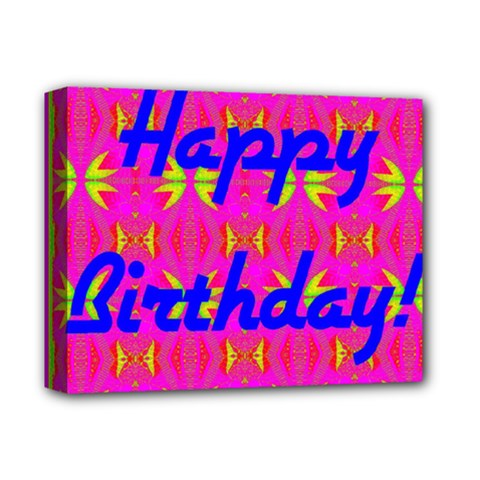Happy Birthday! Deluxe Canvas 14  X 11  by Amaryn4rt