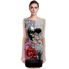 Zombie Classic Sleeveless Midi Dress by PattyVilleDesigns