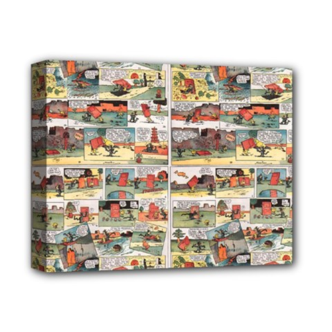 Old Comic Strip Deluxe Canvas 14  X 11  by Valentinaart