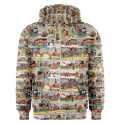 Old Comic Strip Men s Pullover Hoodie by Valentinaart