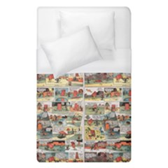 Old Comic Strip Duvet Cover (single Size) by Valentinaart