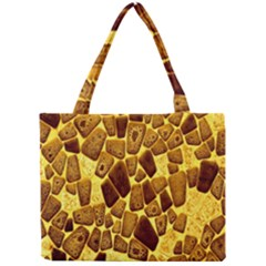 Yellow Cast Background Mini Tote Bag by Amaryn4rt