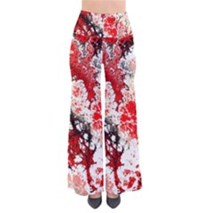 Red Fractal Art Pants by Amaryn4rt