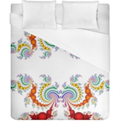 Fractal Kaleidoscope Of A Dragon Head Duvet Cover (california King Size) by Amaryn4rt