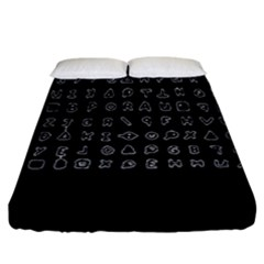 Zodiac Killer  Fitted Sheet (king Size) by Valentinaart
