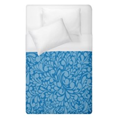 Blue Pattern Duvet Cover (single Size) by Valentinaart