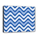 Waves Wavy Lines Pattern Design Canvas 14  x 11  View1