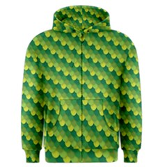 Dragon Scale Scales Pattern Men s Zipper Hoodie by Amaryn4rt