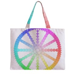 Polygon Evolution Wheel Geometry Zipper Mini Tote Bag by Amaryn4rt