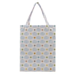 Baby Cloudy Star Cloud Rainbow Blue Sky Classic Tote Bag by Alisyart