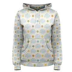 Baby Cloudy Star Cloud Rainbow Blue Sky Women s Pullover Hoodie