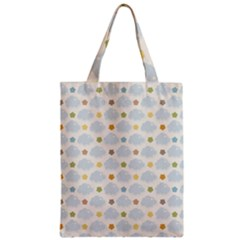 Baby Cloudy Star Cloud Rainbow Blue Sky Zipper Classic Tote Bag
