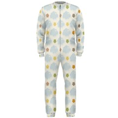 Baby Cloudy Star Cloud Rainbow Blue Sky Onepiece Jumpsuit (men)