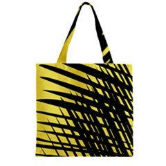 Doodle Shapes Large Scratched Included Zipper Grocery Tote Bag by Alisyart