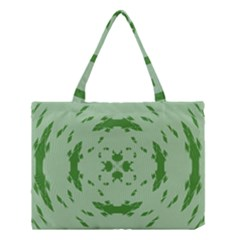 Green Hole Medium Tote Bag