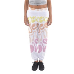 Sugar Sweet Rainbow Women s Jogger Sweatpants by Alisyart