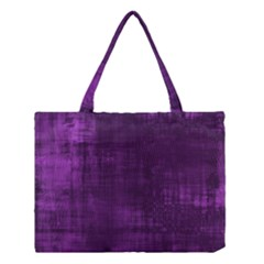 Background Wallpaper Paint Lines Medium Tote Bag by Amaryn4rt