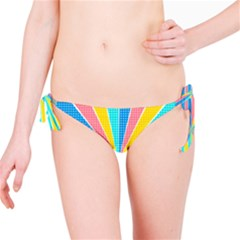 Rhythm Heaven Megamix Circle Star Rainbow Color Bikini Bottom by Alisyart