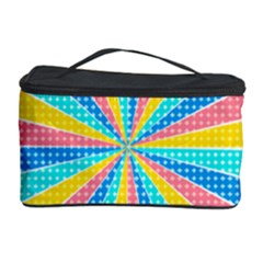 Rhythm Heaven Megamix Circle Star Rainbow Color Cosmetic Storage Case