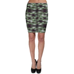 Stripes Camo Pattern Print Bodycon Skirt by dflcprintsclothing