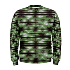 Stripes Camo Pattern Print Men s Sweatshirt by dflcprintsclothing