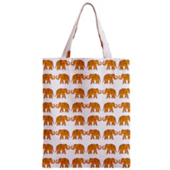 Indian Elephant  Zipper Classic Tote Bag by Valentinaart
