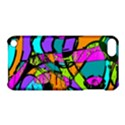 Abstract Art Squiggly Loops Multicolored Apple iPod Touch 5 Hardshell Case with Stand View1