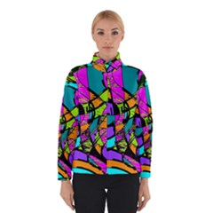 Abstract Art Squiggly Loops Multicolored Winterwear