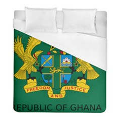 National Seal Of Ghana Duvet Cover (full/ Double Size) by abbeyz71