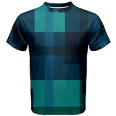 Boxes Abstractly Men s Cotton Tee