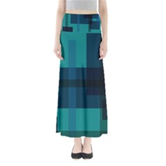 Boxes Abstractly Maxi Skirts by Amaryn4rt