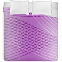 Abstract Lines Background Duvet Cover Double Side (king Size) by Amaryn4rt