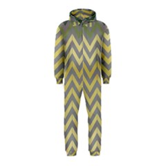 Abstract Vintage Lines Hooded Jumpsuit (kids) by Amaryn4rt