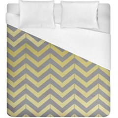 Abstract Vintage Lines Duvet Cover (king Size) by Amaryn4rt