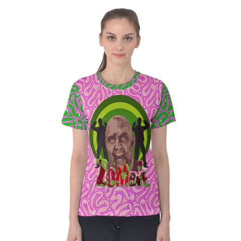 Zombie Women s Cotton Tee by PattyVilleDesigns