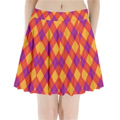 Plaid Pattern Pleated Mini Skirt by Valentinaart