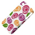 Colorful Seamless Floral Flowers Pattern Wallpaper Background Apple iPhone 4/4S Hardshell Case (PC+Silicone) View4