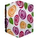 Colorful Seamless Floral Flowers Pattern Wallpaper Background iPad Air Flip View3