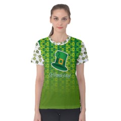 St Patricks Day, Women s Cotton Tee by PattyVilleDesigns