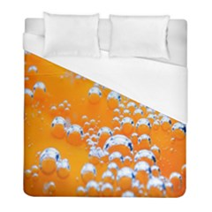 Bubbles Background Duvet Cover (full/ Double Size) by Amaryn4rt