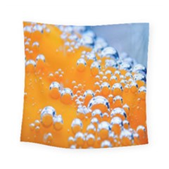 Bubbles Background Square Tapestry (small)