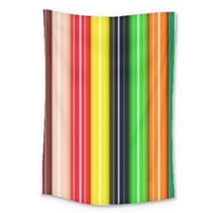 Colorful Striped Background Wallpaper Pattern Large Tapestry