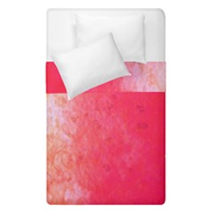Abstract Red And Gold Ink Blot Gradient Duvet Cover Double Side (single Size) by Amaryn4rt