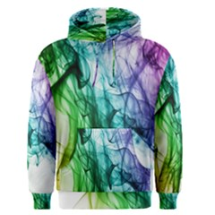 Colour Smoke Rainbow Color Design Men s Pullover Hoodie