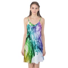 Colour Smoke Rainbow Color Design Camis Nightgown