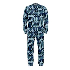 Navy Camouflage Onepiece Jumpsuit (kids) by sifis